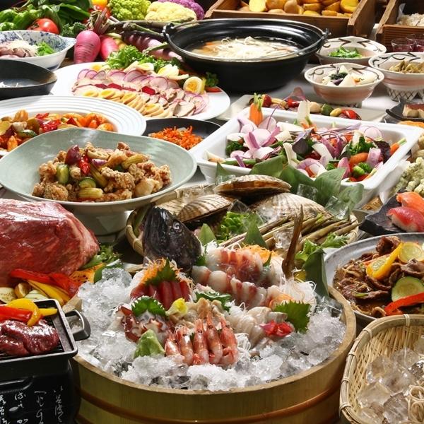 【基本/夕食バイキング付】富良野を満喫するならこれ!北海道の美味しいを集めた特別ビュッフェ付き♪