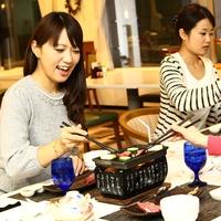 【期間限定】ネット限定☆お肉?お魚?メインディッシュを選べるカジュアルディナー♪2食付