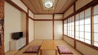 ペットと泊まれる和室(2〜3人利用)バス・トイレ男女共同