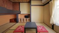 和室(3〜4人利用)バス・トイレ男女共同・2室利用
