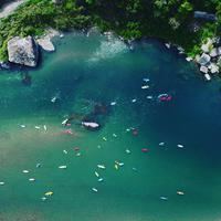 <6月迄限定◆半日カヌースクール体験>【宿泊代→10%OFF】仁淀川を優雅にカヌーでお散歩<2食付>