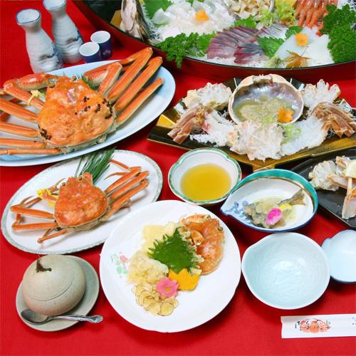 小林フルコース☆茹でガニ・かに刺し・焼き蟹・かに鍋…越前ガニ&カニ料理のオンパレード!!