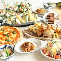 <MACARONI CLUB>和洋折衷ディナー&飲み放題(90分)☆1泊2食付きプラン