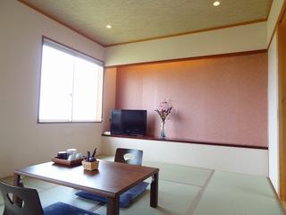 海側和室8畳【バストイレ付/禁煙/無線LAN完備】