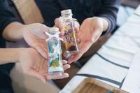 【女子旅】海を眺めながらゆったりと♪こだわりの高知県産プリザーブドフラワーのハーバリウム体験♪2食付