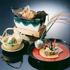 <ご夕食/ご朝食お部屋食>季節の会席料理プラン【ひょうご再発見】