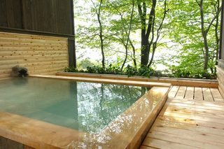 【カップル記念日オススメ】新緑に浸る山の湯露天風呂貸切無料☆連休・休前日はお早めのご予約を♪