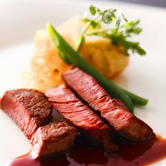 【早得21】≪旬の和食&フレンチ会席≫御食国淡路島の魚介と淡路牛のステーキを愉しむ