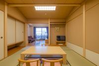 【新館】露天風呂付和洋室 和室8畳+2ベッド