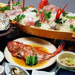 魚好きにはたまらない!大きなお皿にまるごと一匹!金目鯛姿煮プラン【¥9,800】