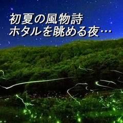 ≪ホタル観賞無料送迎プラン≫初夏の夜を彩る自然の光に癒されて…<1泊2食付 季節の会席>