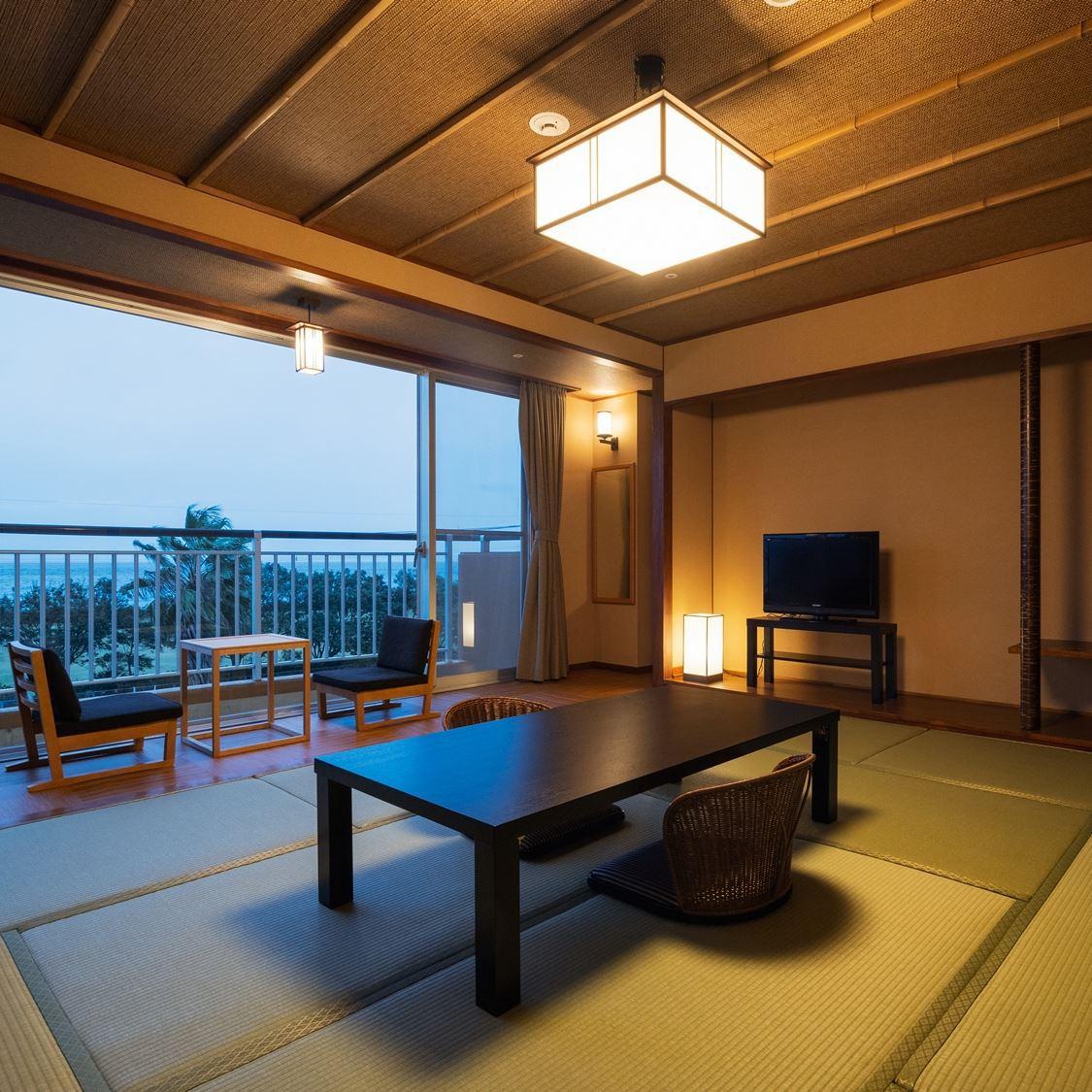 錦江湾を望むシャワーブース付和室8畳 ...
