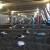 【温泉AWARD2014年放送プラン】鹿児島名産『三大黒』と指宿『砂蒸し温泉』満喫