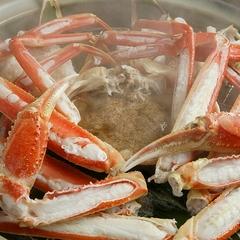 【冬季限定】季節の旬会席に蟹温泉蒸1杯プラス お手頃な「蟹」付きプラン
