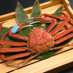 ◇ 特撰 / 加能蟹会席 ◇ 石川県産ブランド蟹で雄の『加能蟹』と雌の『香箱蟹』を堪能する夫婦蟹会席