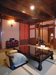 【離れ・特別室】〜1棟建・メゾネット・ツイン〜露天・トイレ付