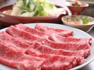 神田川道場「心」で国産黒毛和牛しゃぶしゃぶかすき焼「月」