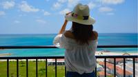 【春夏旅セール】空港近く本島南のビーチリゾート、波音と夕陽に癒されるオーシャンビュー客室♪/朝食付