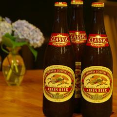 【男性限定★ビール特典付き】5名様以上のグループ様限定!ビール3本サービス♪≪1泊2食付き≫