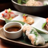 """【一番人気!】アジアン大好きなオーナーが作る""""創作アジアン料理""""をお部屋食で♪"""