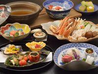 【冬季限定】旨味がつまった旬のズワイ蟹を『蟹すき鍋』で堪能!「11月〜2月限定!季節の旬プラン」