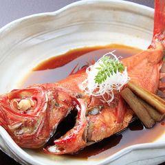 【あわび又は国産牛ステーキが選べる!最上級献立】金目鯛の姿煮付と豪華鯛料理♪伊豆海の膳♪