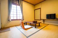 【和室2F・6畳・トイレ付】部屋食&貸切風呂で安心ステイ♪