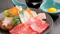 【1日30食限定 秋の会席料理】 米沢牛すき焼きときのこの薫り会席
