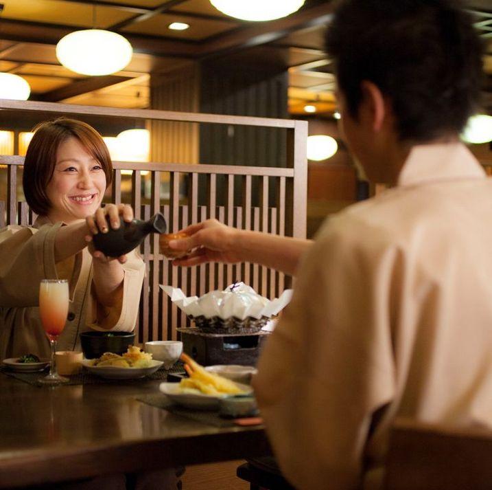 【カップル】★1泊2食★2人の恋旅☆「高層階確約」や「レイトアウト」など5つの特典付き♪