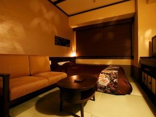 【禁煙】「和」セミダブル◆160cm幅ベッド1台
