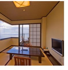 【禁煙和室8畳】 露天風呂・テラス付き客室