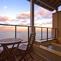 【喫煙和室8畳】 露天風呂・テラス付き客室