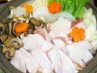 冬季限定★旨いを極めた日本最高の地鶏★奥久慈しゃも鍋を食べよう!!プラン
