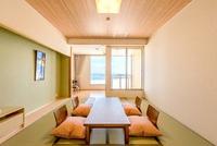 【禁煙】風 展望テラス 和室10畳+広縁2畳 全40平米