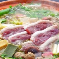 脂ののった鴨を味わう「国産鴨鍋コース」【東館】