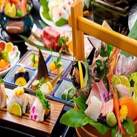 日本海の恵み・・・旬魚の饗宴 泡雪醤油で食す旬魚懐石とプライベート空間で過ごす大切な時【特選会席】