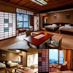 【日本庭園を望む】モダンゆったり和洋室(和室10畳+ツイン)