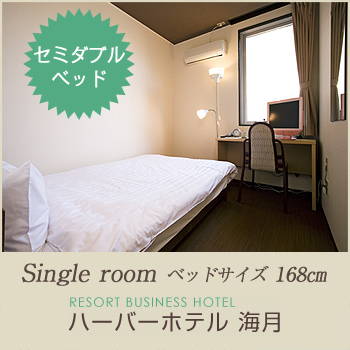 Semi-Double Room for Single Use