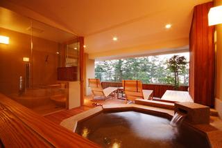 露天風呂付き特別室「風のみどり」
