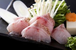 【のど黒懐石】 北陸の高級魚を堪能して下さい!