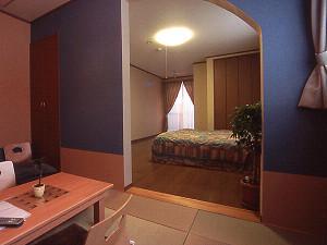 展望風呂付き 和洋室206号室(洗面・トイレ付)