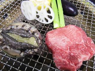 宮城・三陸 海の幸を食べつくす!【あわび・牛タン炭火焼きプラン】