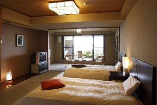 露天風呂付客室【ベッド】