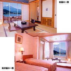 【禁煙】本館スタンダード【和室or和洋室】河口湖越しに富士山