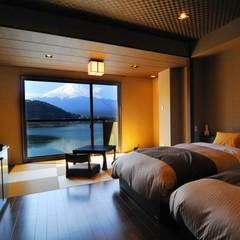 別亭凛  和洋室【禁煙】河口湖と富士山がご覧頂けるお部屋
