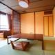 湖楽 (3階)和室8畳二間 禁煙 河口湖越しに富士山