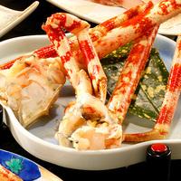 【名物】高足ガニ料理を1品チョイス<焼き・蒸し・刺身・天婦羅>