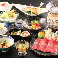 【1泊2食】【竹コース】〜近江牛のしゃぶしゃぶと郷土料理を堪能〜