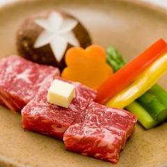 【春夏旅セール】【ちょっとだけ贅沢に】グレードアップ会席 和牛の陶板焼きをメインに旬の彩を添えて♪