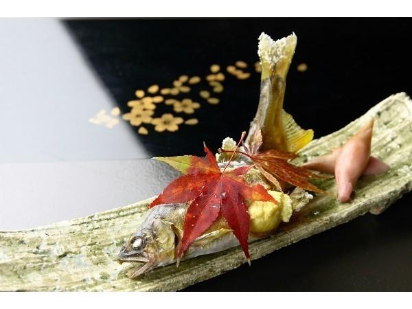 【鮎x焼肉付】【期間限定】千曲川産「生鮎」塩焼と信州プレミアム牛肉焼肉 旬と旨さの競演プラン
